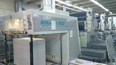 二手罗兰94年罗兰805-142全张五色标配