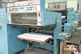 二手罗兰印刷机81年RVK-3B对开四色水车