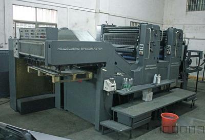 二手海德堡SM102-2(2+0)双色88年高收纸